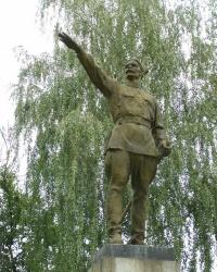 г.Лубны. Памятник В.И.Чапаеву.