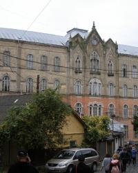 м. Ужгород. Будівля фізичного факультету університету.