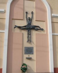 г.Гомель. Памятный знак на месте лагеря военнопленных.