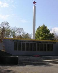 с. Павлівка. Меморіал воїнам-визволителям і загиблим односельцям.