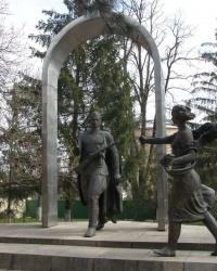 Сквер Победы в Первомайске.