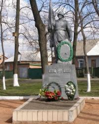 г.Ромны. Братская могила воинов, погибших при освобождении города