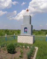 с. Шаповалівка. Братська могила мирних жителів.