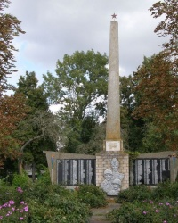 Село Сиволож. Пам'ятний знак загиблим односельцям