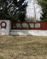 с.Скоринец. памятный знак погибшим односельчанам