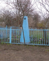 с. Українське. Братська могила.