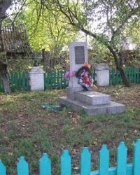 с. Ведильцы. Братская могила мирных жителей.