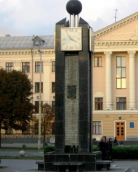 Часы в Запорожье. Фотоквест