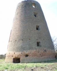 Старинная немецкая мельница в Зразковом