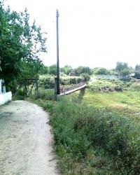 Висячий мост над оврагом