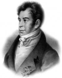 Николай Иванович Гнедич в Котельве