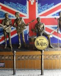 Памятник «The Beatles» в Донецке