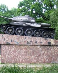 5-я гвардейская танковая армия. Памятник освободителям Знаменки.