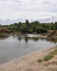 Разрушенная плотина в Белоусово