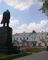 Пам'ятник Тарасові Шевченку у Сумах
