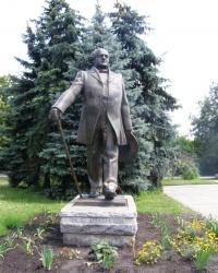 Памятник Михайло Щепкін у Сумах