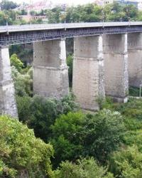 Новоплановский мост 1872 года через р. Смотрич