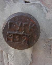 ПП ГУГК № 4321 на доме № 100 на улице 1-ой Конной Армии