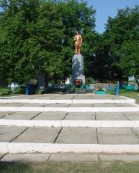 Братская могила. Нижний Бишкин