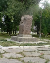 Памятник Т.Г.Шевченко в с.Андреевка (Балаклейский р-н)