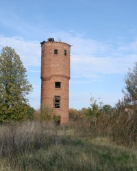 Лютовка. Башня