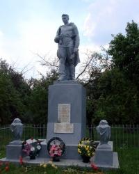 Братская могила советских воинов в селе Гайдары