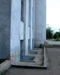 Репер на Дворце Железнодорожников