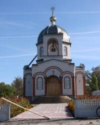 Храм Александра Невского в Цуповке