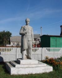 Памятник Ленину в Цуповке