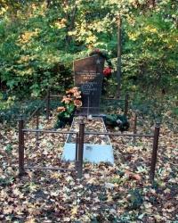 Братская могила в лесу около Мироновки
