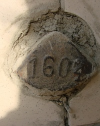 Репер № 1604 на улице Красные Ряды