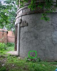 ПП на водонапорной башне около вокзала Люботин.