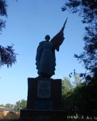 Братская могила в селе Вербовка