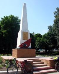 Памятник Людмиле Макиевской в Купянске