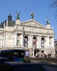 ПП на Оперном Театре в г.Львове