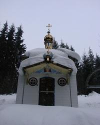 Храм на территории биостационара Львовского Университета