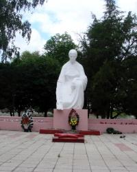 Мемориал в поселке Слатино