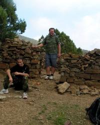 Верхний монастырь на горе Перчем