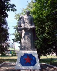 Братская могила советских воинов. Поселок Зидьки