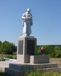 Мемориал в селе Чепель