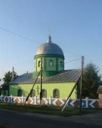 Свято-Троицкий храм в селе Пришиб
