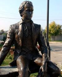 Памятник Шевченко в городе Дергачи