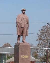Памятник Ленину в городе Дергачи