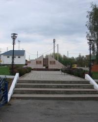 Братская могила на станции Казачья Лопань