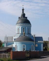 Свято-Вознесенский храм в Золочеве