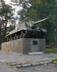 Памятник танкистам в Золочеве