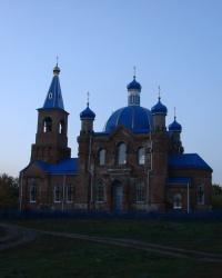 Покровский храм в Карасёвке