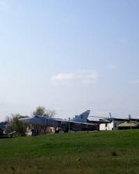Выставка военной техники под открытым небом в г. Южноукраинск