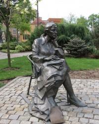 Памятник Агнешке Осецкой в Ополе (Agnieszka Osiecka w Opole)