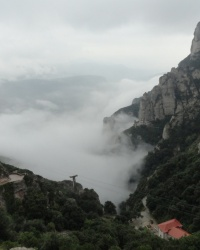 Монастырь Монсеррат на горе Монсеррат